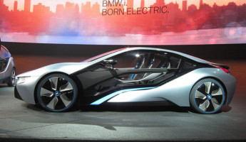 BMW i3 and i8 Electric Vehicles