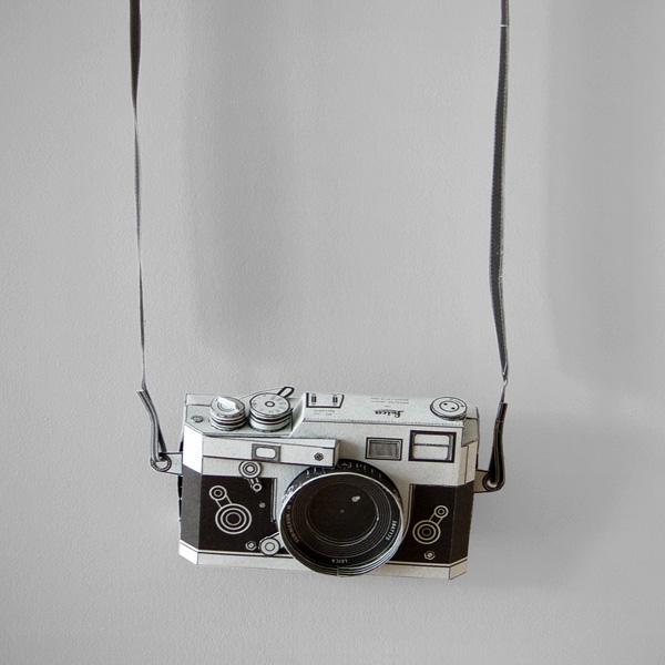 Paper Leica M3 Pinhole Camera 1 Paper Leica M3 Pinhole Camera