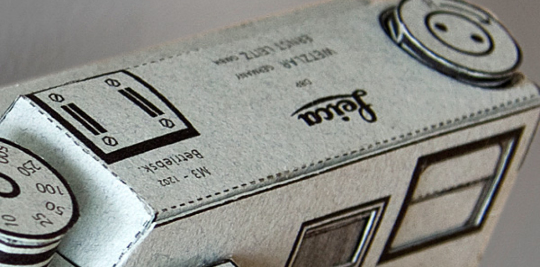 Paper Leica M3 Pinhole Camera