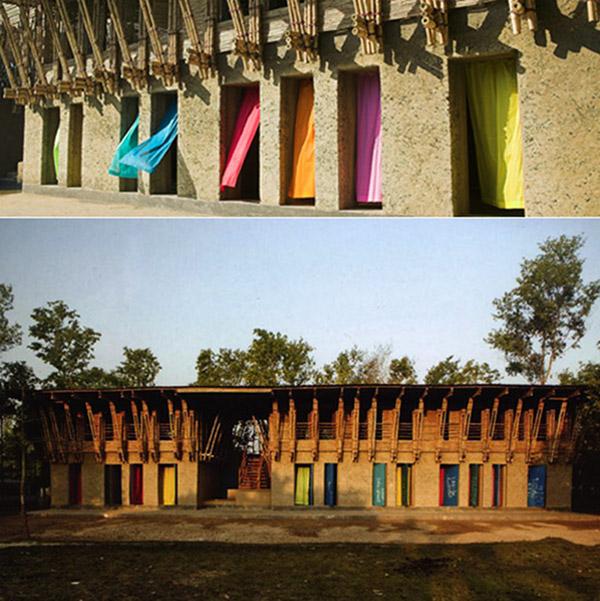 Handmade Wooden School in Bangladesh 1