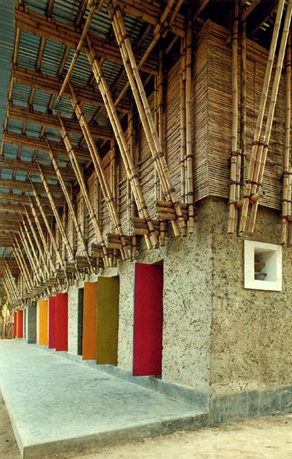 Handmade Wooden School in Bangladesh 2