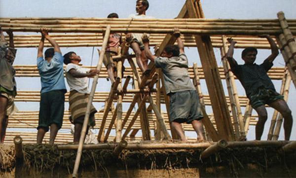 Handmade Wooden School in Bangladesh 3