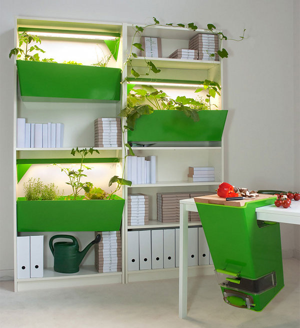 Indoor Farm and Compost by Ferber and Dieckmann 1 Indoor Garden and Compost by Ferber and Dieckmann