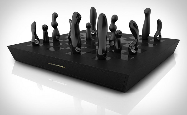 Kiki De Montparnasse Hand-Made Chess Set