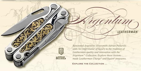 Leatherman Argentum Collection 2