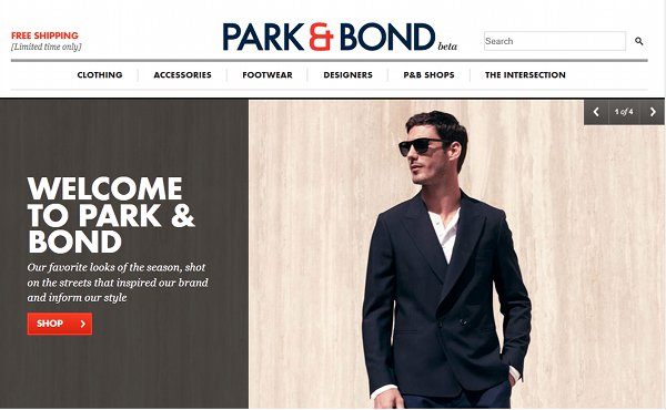 park and bond Gilt Groupe Reveals Park&Bond for Men