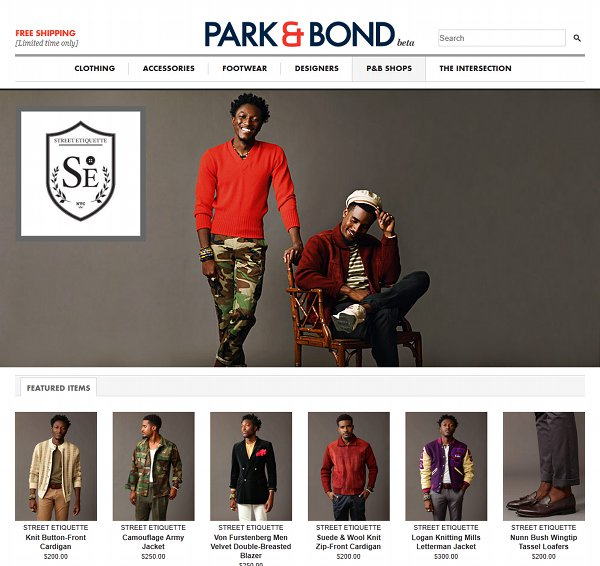 park and bond street etiquette Gilt Groupe Reveals Park&Bond for Men