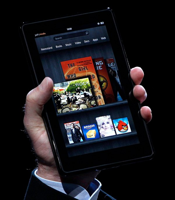Amazon Kindle Fire 1 Amazon Kindle Fire Tablet Revealed