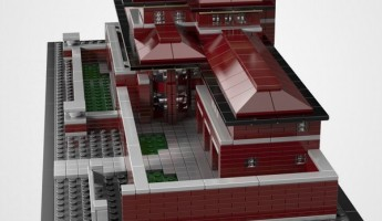 Frank Lloyd Wright Lego Robie House