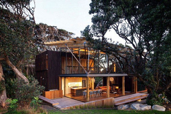 Pohutukawa Beach House by Herbst Architects 2