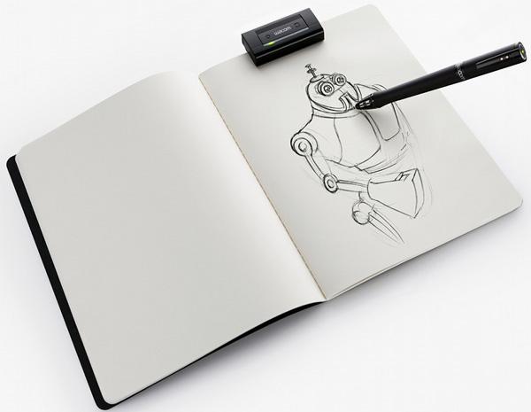 Wacom Inkling Digital Stylus Pen 3 Wacom Inkling Digital Stylus Pen
