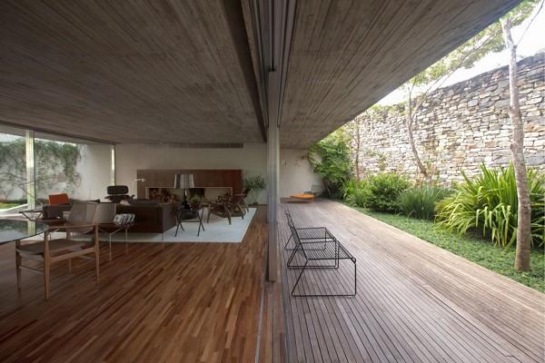 Chimney House by Marcio Kogan – Studio MK27 5