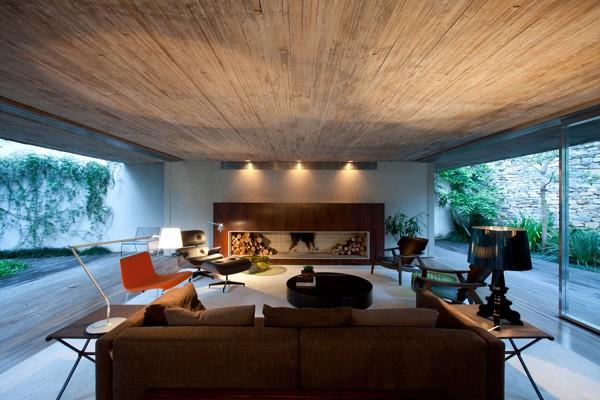 Chimney House by Marcio Kogan – Studio MK27 7