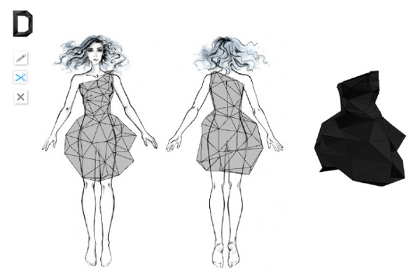 Faceted Fashion – D Dress by Continuum 2