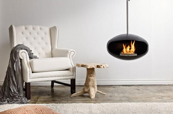 Cocoon Fireplace by Federico Otero 1 Cocoon Fireplace by Federico Otero