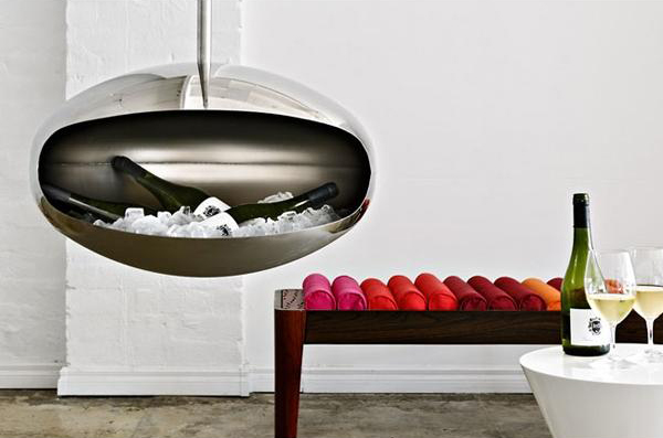 Cocoon Fireplace by Federico Otero 4