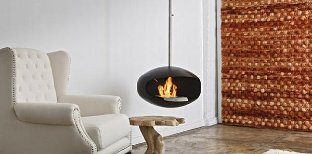 Cocoon Fireplace by Federico Otero