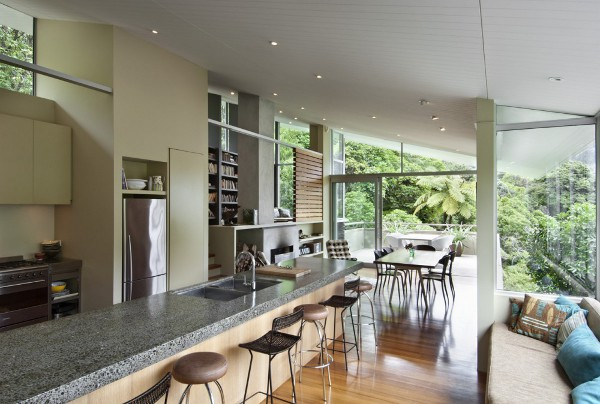 Apple Bay House By Parsonson Architects - Fashionable-one-storey-house-by-parsonson-architects