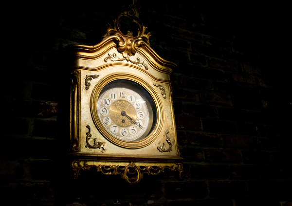 Berns Steak House – 11162011 – Berns Clock Detail