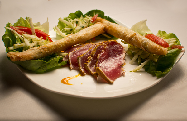 Berns Steak House – 11162011 – Berns Seared Tuna