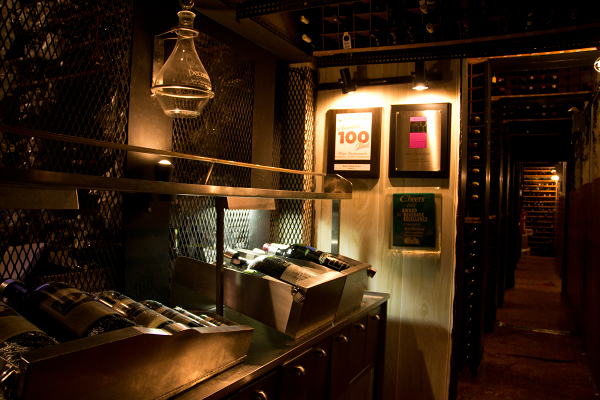 Berns Steak House – 11162011 – Berns Wine Cellar