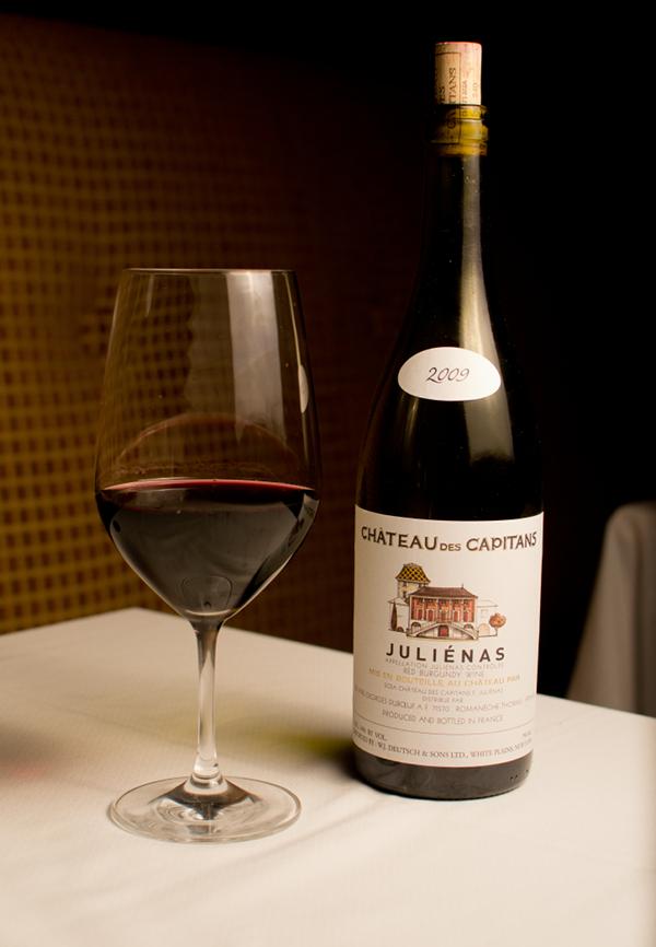 Berns Steak House – 11162011 – Chateau des Capitans