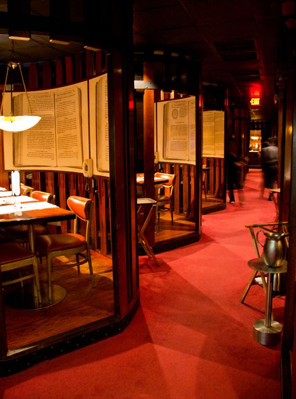 Berns Steak House – 11162011 – Harry Waugh Dessert Room 2