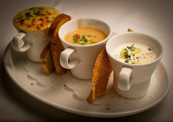 Berns Steak House – 11162011 – Soup Trio