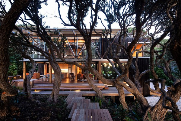 Pohutukawa Beach House by Herbst Architects 1 Architecture 2011: Top 10 Contemporary Homes of the Year