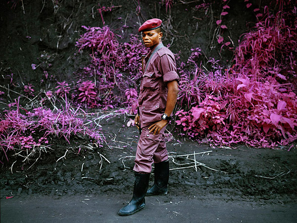 Infrared Warriors by Richard Mosse 1 Infrared Conflict by Richard Mosse