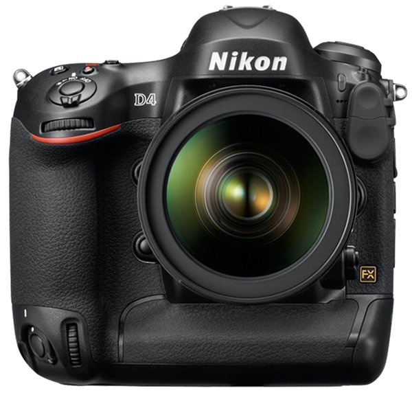 Nikon D4 DSLR 1 Nikon D4 DSLR Revealed