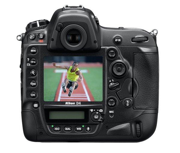 Nikon D4 DSLR 2 Nikon D4 DSLR Revealed