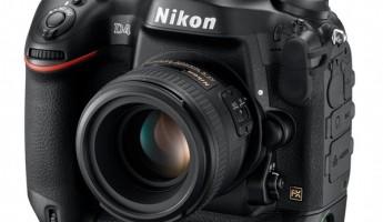 Nikon D4 DSLR Revealed