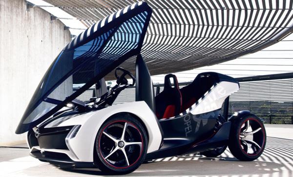 Opel Rak E concept 2 Opel Rak E Concept