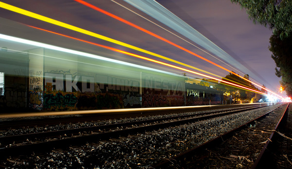 Trains by Aaron Durand 3 Slow Shutter Trains by Aaron Durand