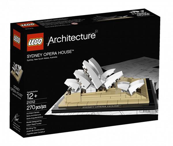 LEGO Sydney Opera House 1