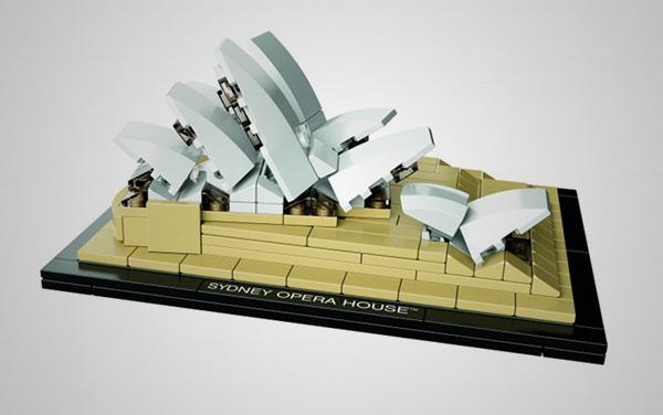 LEGO Sydney Opera House 3 LEGO Sydney Opera House