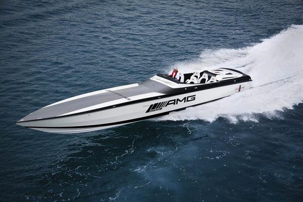 Mercedes AMG Marauder Cigarette Boat 1 Mercedes AMG Marauder Cigarette Boat