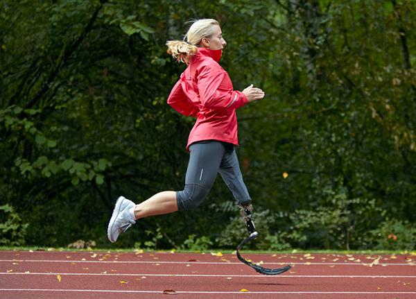 Nike Sole Prosthetic Running Shoe 1 Nike Sole Prosthetic Running Shoe