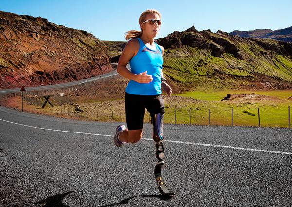 Nike Sole Prosthetic Running Shoe 4