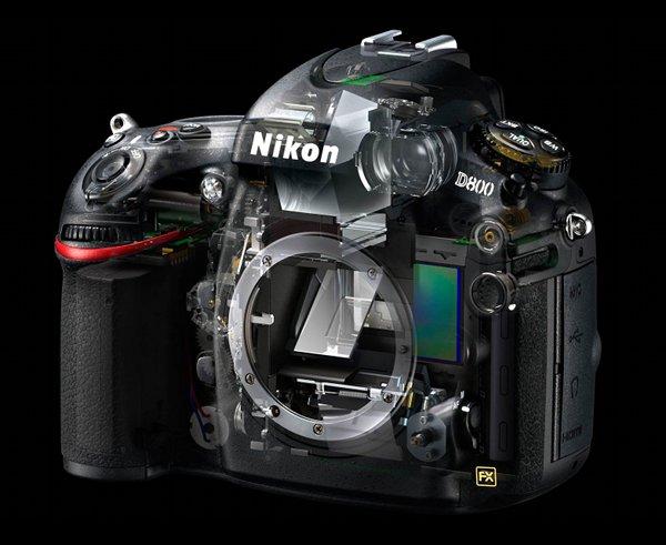 Nikon D800 DSLR Camera 6