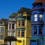 San Francisco Painted Ladies Color Changes