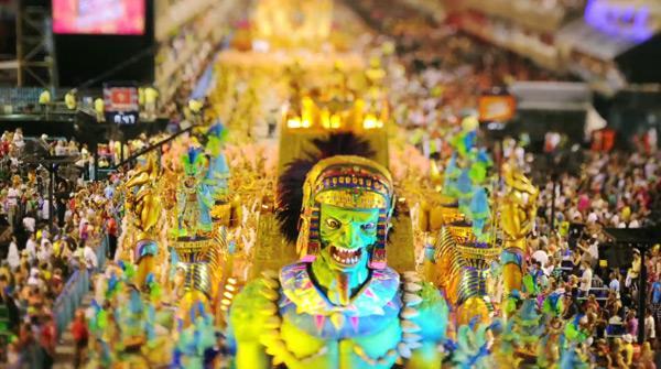 Tilt Shift Carnaval Rio 2 Tilt Shift Carnaval   Rio de Janeiro