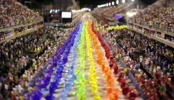 Tilt-Shift Carnaval – Rio de Janeiro
