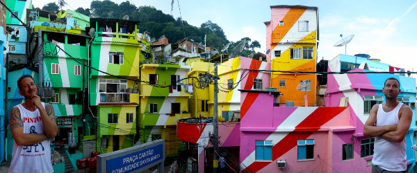 favela painting 8 Cities of Color: 10 Vibrant, Colorful Cities of the World