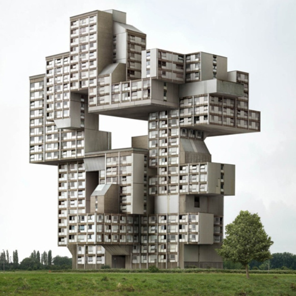 Architectural unreality in the photographs of Philip Dujardin 3 Surreal Architectural Photographs by Philip Dujardin