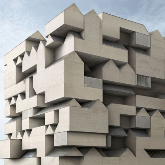 Architectural unreality in the photographs of Philip Dujardin 8
