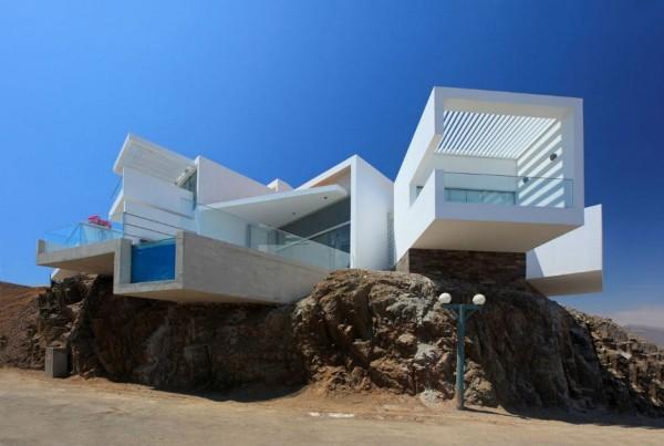 Casa playa las lomas 1 Casa Playa Las Lomas I 05 by Vértice Arquitectos