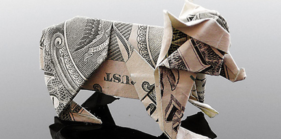 Craig Folds Five Dollar Origami