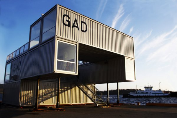 GAD mmw architects 4 GAD Mobile Art Gallery by MMW Architecture